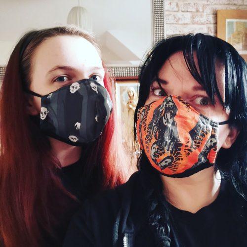 Nosferatu and Mary Masks